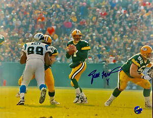 Vintage Brett Favre Green Bay Packers Signed 11x14 Photo Autographed Favre COA
