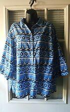"blouse by Rebecca Malone women 1X, bust 50 """