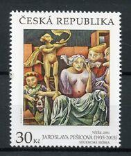Czech Republic 2017 MNH Art of Jaroslava Pesicova 1v Set Stamps