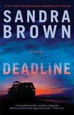 Deadline by Sandra Brown (2013, Hardcover)