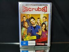 Scrubs 3-Disc Set The Complete 8th Season DVD Video NEW/Sealed