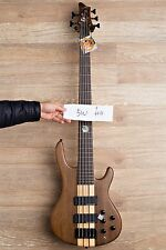 Wolf 5W Walnut Natural 5 String Jazz Bass Guitar