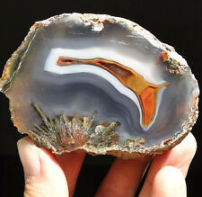"3.2"" - Natural Colorful AGATE - Asni, Morocco, Africa - TOP QUALITY !"