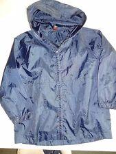 Tu (Back Tu School) Navy Blue Showerproof Light Hooded Jacket (Age 7 yrs.)