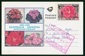Mayfairstamps South Africa 1992 to Auckland Park African Violet Cover wwp_51987