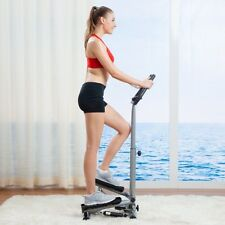 Exercise Machine Stepper With Handle BAr Twist Workout Fitness LCD Monitor