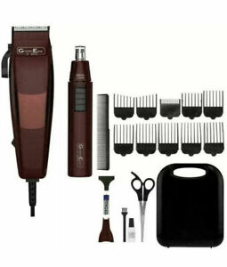 WAHL 79449-917 GROOMEASE HAIR CLIPPER & TRIMMER GIFT SET-18 PIECE KIT