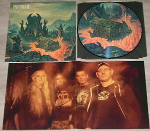Memoriam-Requiem for Mankind Picture LP Bolt Thrower Dismember Napalm Death