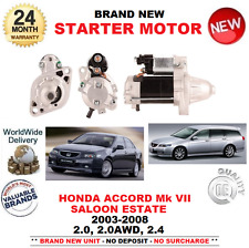 PARA HONDA ACCORD 2.0 AWD 2.4 MOTOR DE ARRANQUE 03-08 CL7 CL8 CL9 CM1 CM2 1.0kW