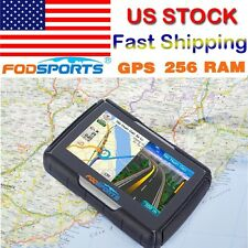 "4.3"" inch Motorcycle GPS Touch Screen 8GB Waterproof Car Navigation SAT NAV US"