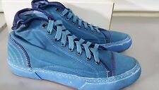 PANTOFOLA D'ORO SNEAKERS CANVAS TN47 BLU DENIM 42 BLUETTE UNISEX UOMO DONNA