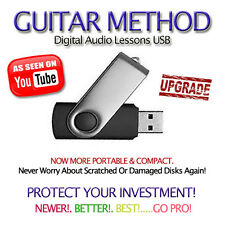 75,000+ Tablatures and 4050+ Backing Tracks Guitar Tab Software Lessons 32G USB