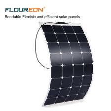 100 W 18V Elfeland Sunpower Semi Flexible Solar Panel Home Boat Charger Storage