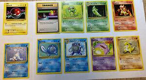 Pokemon Karten Set: 90er Artworks 1 Boosterfrisch