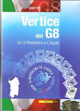 italia 2009 vertice dei G8 da la maddalena a l'aquila folder ufficiale