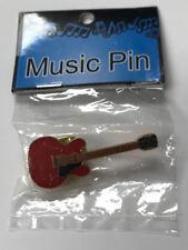 Mini Guitarra Eléctrica: 335 Estilo Pin (rojo)