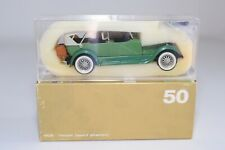 @. 1:43 RIO 50 LINCOLN SPORT PHAETON 1928 GREEN MINT BOXED