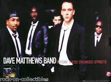 DAVE MATTHEWS BAND 1998 CROWDED STREETS ORIGINAL PROMO POSTER
