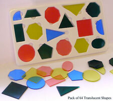 64 Overhead Projector Geometric Shapes Educational Learning & Teacher Resource