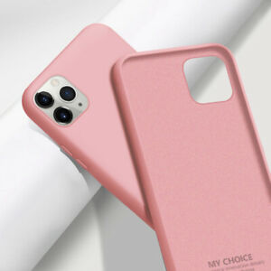 For iPhone 13 12 11 Pro Max XS XR 8 Shockproof Liquid Silicone Soft Case Cover