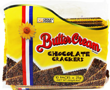 Croley Foods Buttercream Chocolate Crackers Flavor Filipino snack brand