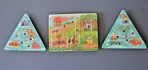 3 Carl's Jr  Maze Puzzle Game Toy's 1993, Carl Karcher Ent.- Namkung Promotions
