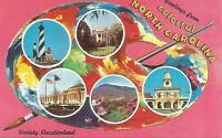 ag(X) Greetings from Colorful North Carolina, Variety Vacationland