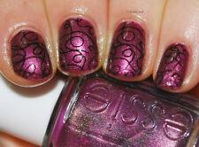 Essie nail polish lacquer IT's GENIUS ~ Violet quartz shimmer beige undertones