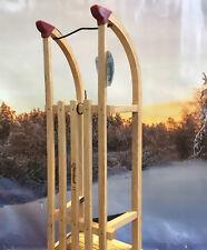 Holzschlitten Davos 90cm