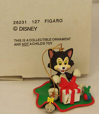 Groiler Disney Pinocchio's FIGARO The Cat Christmas Magic Ornament #127 MIB