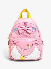 Disney Princess Loungefly Cinderella 70th Anniversary Pink Dress Mini Backpack