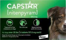 Capstar over 25 Lb Dog Flea Treatment - 6 Count, New Version!