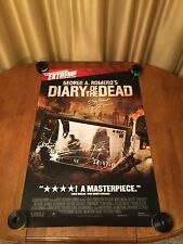 George A. Romero's Diary of The Dead Movie Poster 24X36 Single Sided