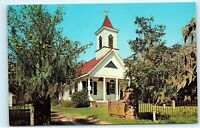 *Trinity Episcopal Church Chapel Edisto Island South Carolina SC Postcard B54