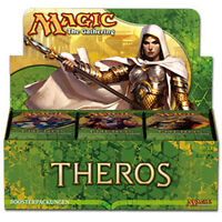 Magic MTG Theros THS BLOCK Sealed Booster Box Display Case Pack the Gathering