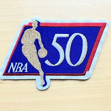 🇨🇦 NBA Basketball 50th Anniversary Embroidered Patch Iron-On Appliqué DS200-20