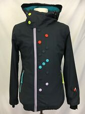 Oakley Signature Series Mens Winter Ski Snowboard Jacket Coat S Magnet Clasps
