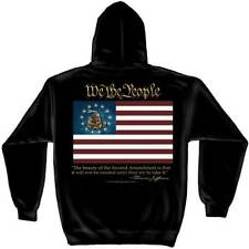 2nd Second Amendment We The People Thomas Jefferson USA Flag Hoodie RN2366SW