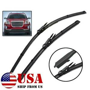 """2Pcs/Set Front Windshield Wiper Blades Fit For GMC Acadia MK1 2012-2016 24"""" 21"""""""