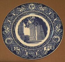 1935 University of Iowa Wedgwood Second Edition University Hall Plate