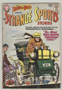 Brave and the Bold #48 June 1963 VG- Strange Sports Stories