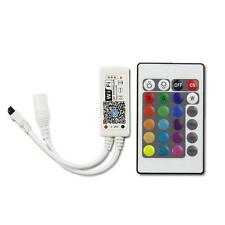 Mini WiFi Controller MIC Music Control for RGB LED Strip light DC5-28V +24Key GI