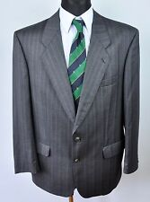 BAUMLER Wool Tartan Textured Blazer UK 44 Jacket Coat Suit EU 54 Gr Sakko Herren