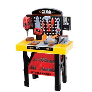 Children's Workbench & Tool Playset with Accessories
