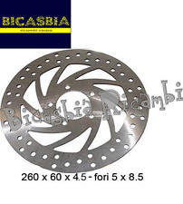 0001 - DISCO FRENO ANTERIORE APRILIA 125 150 SCARABEO MOTORE ROTAX