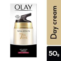 Olay Total Effects 7 in 1 Anti-Ageing Day Cream / Normal 50g Free Shipping