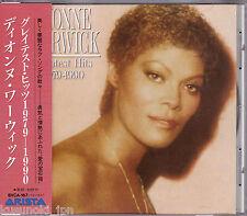 Free Shipping! Dionne Warwick Greatest Hits 1979-1990 CD Japan Obi