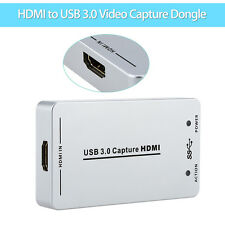 HDV-UH60 1080P UVC HDMI to USB3.0 Video Capture Dongle 60FPS Box Fr Wins/Mac/PS4