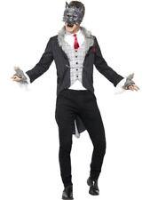 Big Bad Traje de Lobo, De Lujo, Grande, Halloween Vestido de fantasía, para hombre