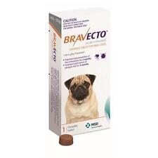 Bravecto Flea & Tick Control Chewable Tablets for Small Dogs (4.5-10kg) - Orange